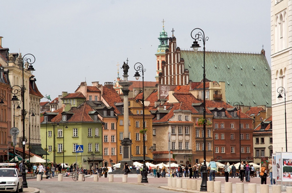 Warsaw World heritage site