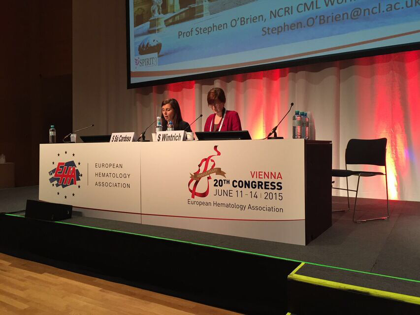 EHA2015 Chairs patient advocacy session 1