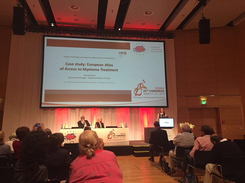 EHA2015 Chairs patient advocacy session 2