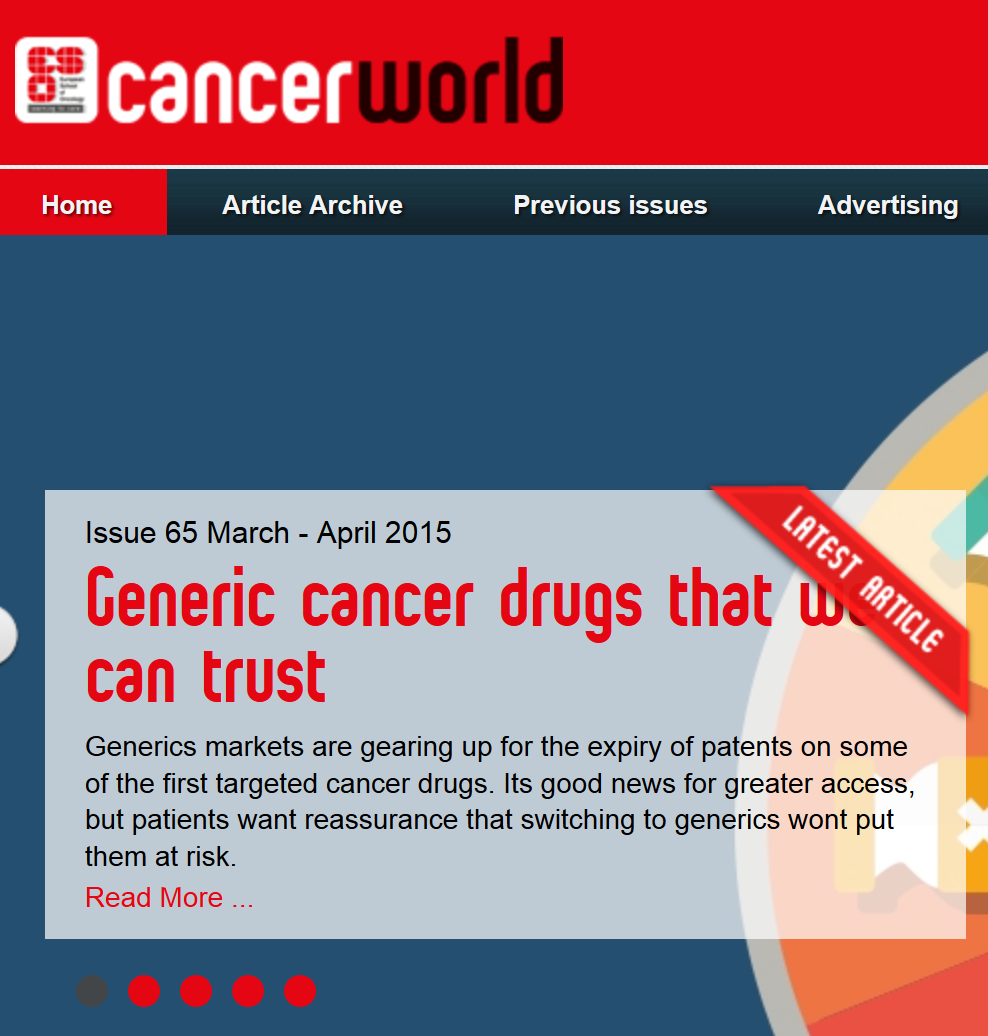 2015-03-31 13 29 08-Home - Cancer World - Shaping the future of cancer care