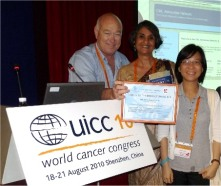 Giora Sharf, Viji Venkatesh and Mei Ching Ong, members of the network