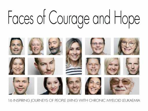 Book Cover FACES OF COURAGE AND HOPE